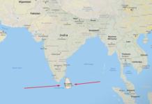 Unde este Sri Lanka